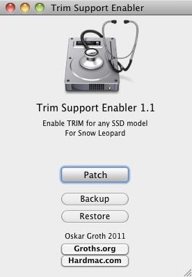 TRIM Support Enabler
