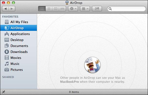airdrop pour mac 10.6.8